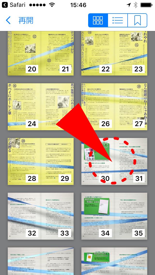 iPhoneのプロセス17